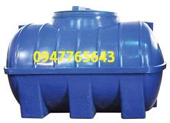 Bồn nước nhựa Tân Á 400l ngang