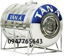Bồn nước Inox Tân Á 1500Ø 980 ngang
