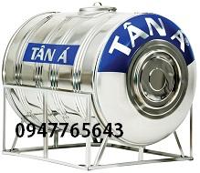 Bồn nước Inox Tân Á 2000LØ1180 ngang